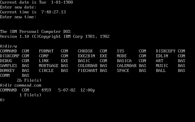 PC_DOS_1.10_screenshot