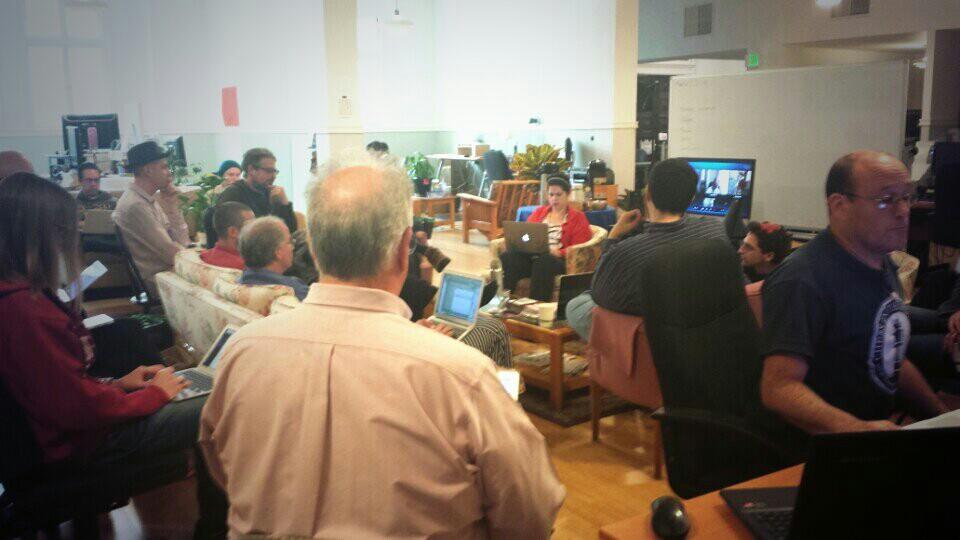 Internet Archive Employees, Weekly Engineering Meeting