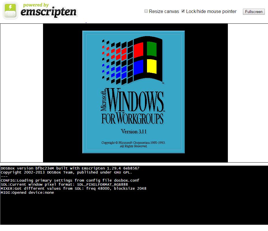 dos 32-bit emulator windows 7